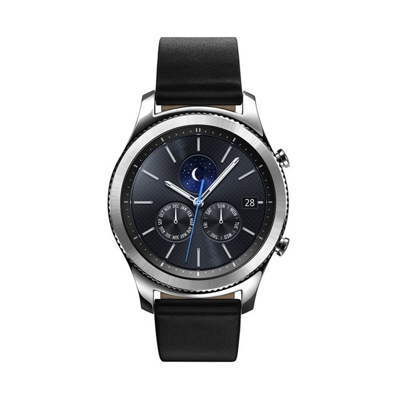 ساعت هوشمند سامسونگ مدل Gear S3 Classic SM-R770 Black Leather | Samsung Gear S3 Classic SM-R770 Black Leather Smart Watch