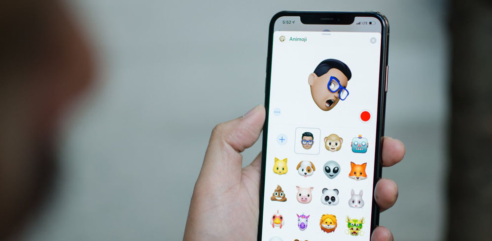 animoji apple iphone xs max