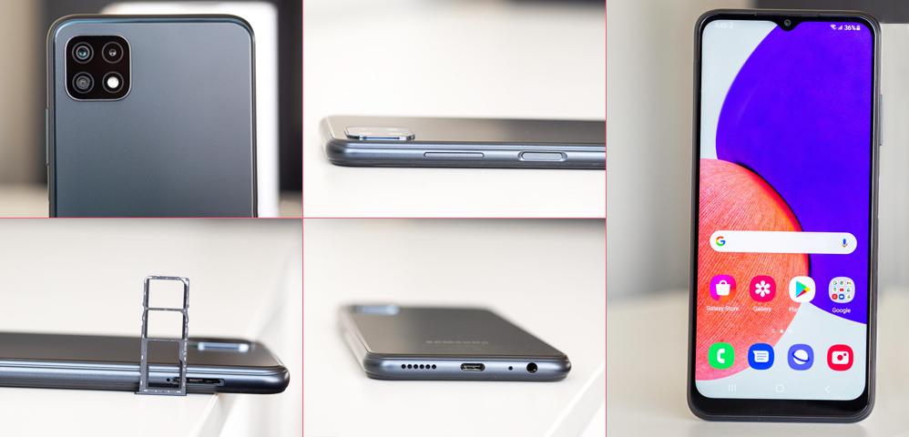 طراحی گوشی سامسونگ a22 5g-کالاتیک