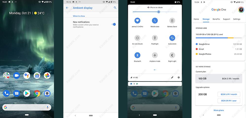 نرم افزار و رابط کاربری گوشی nokia 7.2